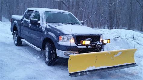 fisher homesteader snow plow  blizzard youtube