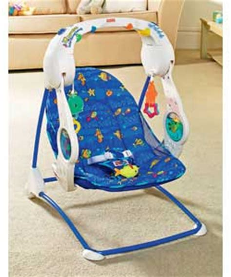 aquarium swing fisher price fisher price aquarium take along swing baby bouncer