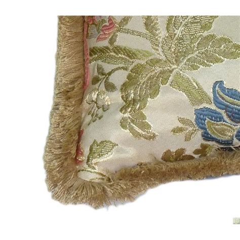 bordi tappezzeria cuscino in cotone damascato santa capua vetere