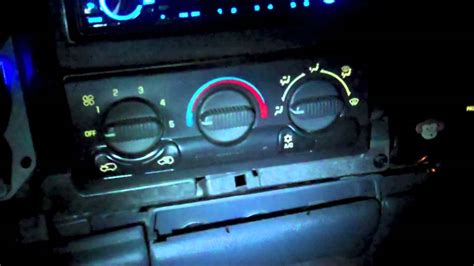 Lights That Change Color With Music How To Change The Color Of Your Dash In A 99 03 Silverado