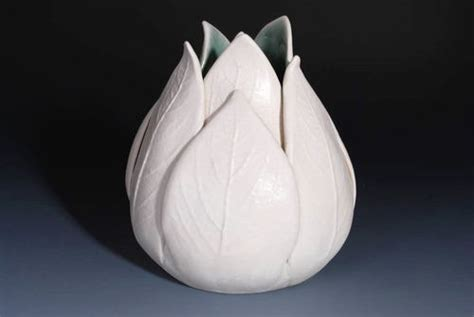 home decorating images tulip vase handmade ceramics hd