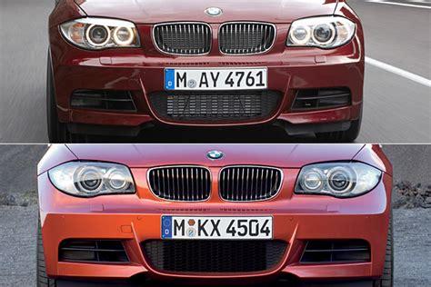 Bmw 1er Coupe Facelift Unterschiede fotostrecke kleines facelift f 252 r bmw 1er coup 233 und cabrio