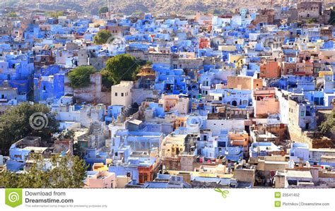 House Building Plans With Prices by View Of Jodhpur Blue City India Stock Photo Image
