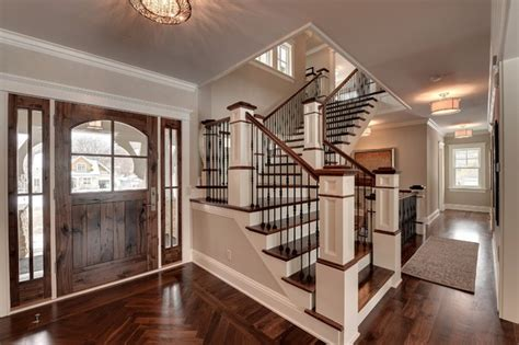 houses with stairs 2013 parade of homes dream house traditional staircase