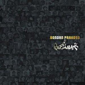download mp3 full album bondan prakoso download bondan prakoso fade 2 black for all 2010