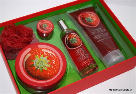 Bath And Body Shower Gel holiday gift options from the body shop giving the gift