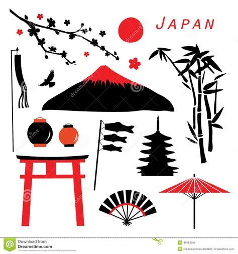 free design japan japan travel icon design vector stock vector image 48183567