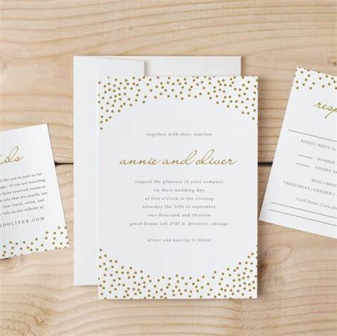 invitation templates for pages mac wedding invitation template download gold dots word or