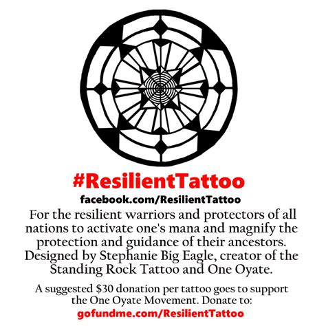 resilience tattoo fundraiser by big eagle resilient