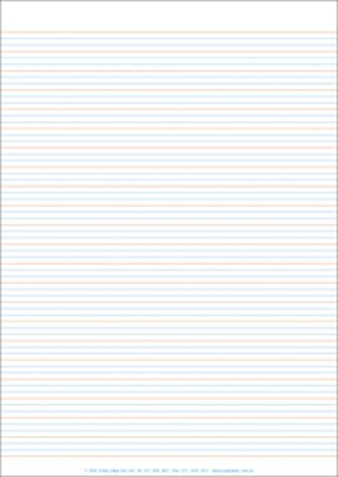 printable lined paper year 1 a4 lined paper full page year 1 rule pack of 250