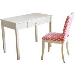 Small Desk And Chair Set Desk And Upholstered Chair Set White And Pink Walmart