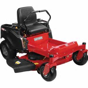 Craftsman 25583 Craftsman 48 Turn Tight Fast Riding Mower Speed From Sears