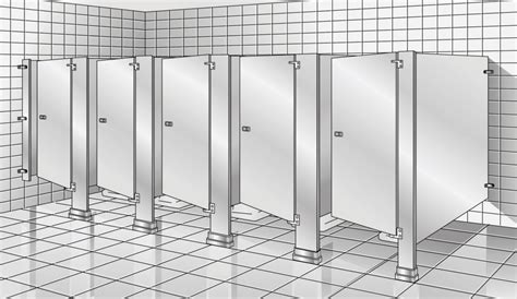 how to install bathroom partitions floor braced toilet partitions restroom partitions