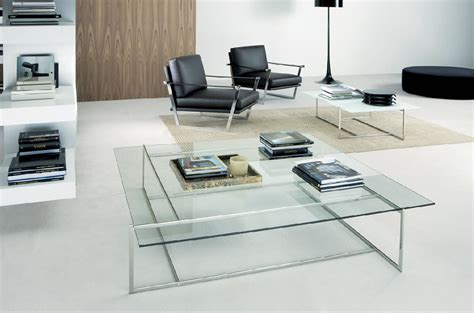 Living Room Decoration Furniture Modern Glass Coffee Glass Tables Living Room