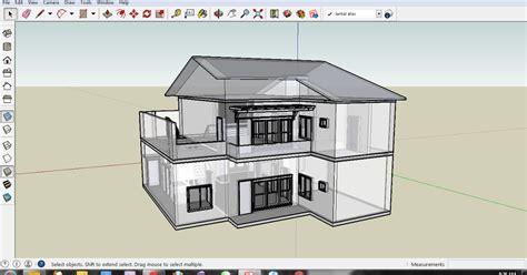 tutorial menggambar rumah belajar menggambar rumah 3d dg sketchup rizal robiansyah