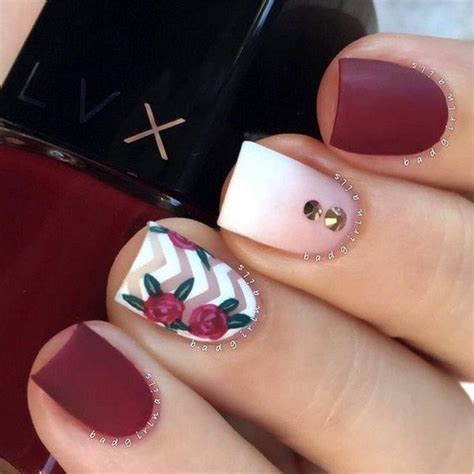 7 Most Fashionable Nail Polishes Of Today by Best 25 Matte Nails Ideas Only On Maroon