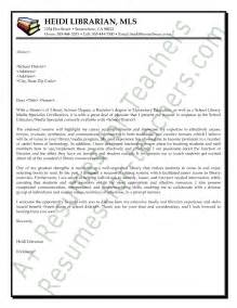 librarian cover letter exle
