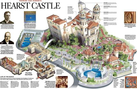 hearst castle floor plan 87 best images about hearst castle on