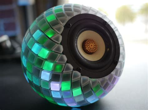 3d printed speakers with an led lightshow stratasys blog