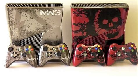 gears of war 3 xbox 360 console modern warfare 3 gears of war 3 limited edition consoles