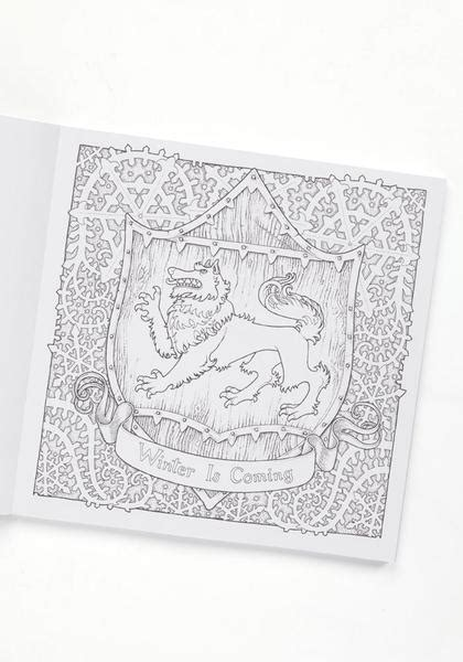 thrones colouring book target of thrones of thrones coloring book newbury comics