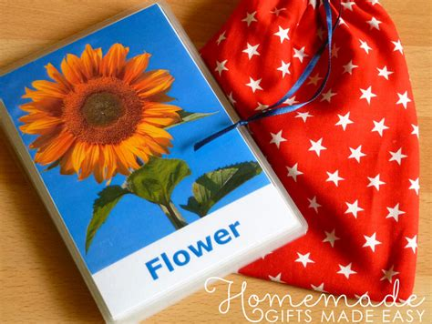 Diy Flash Card Template by Easy Baby Gifts To Make Ideas Tutorials And