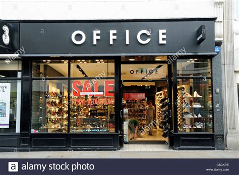 Office Shop Office Shoe Shop Richmond Upon Thames Surrey Stock Photo