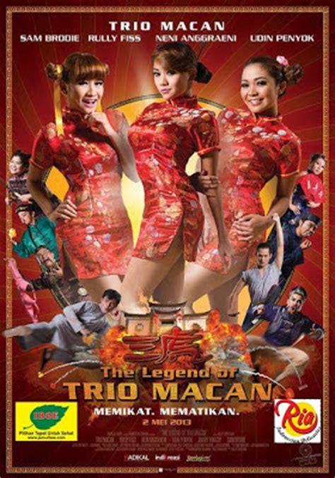 sinopsis film lucu indonesia the legend of trio macan 2013 film lucu indonesia
