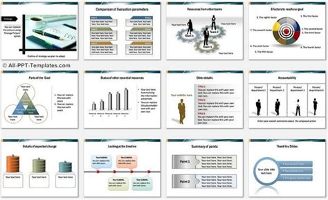Powerpoint Target Report Template Colorful Report Powerpoint Template