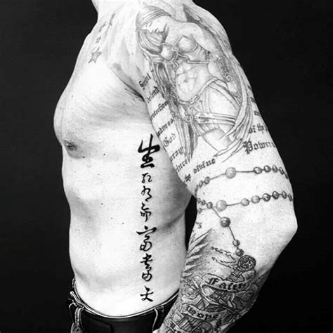 mens side tattoos 75 tattoos for masculine design ideas