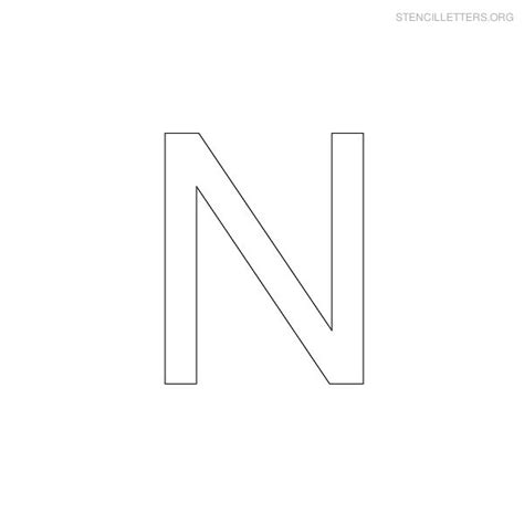 printable alphabet letter n template alphabet letter n common worksheets 187 letter n printable preschool and