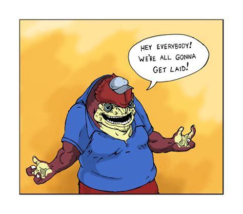 Krogan Meme - krogan reactions to genophage cure by thekidisgreen on