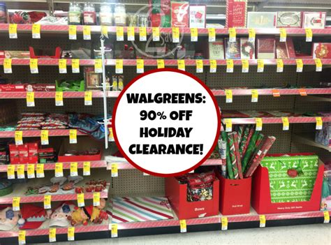 walgreens holiday clearance now 90 off hip2save
