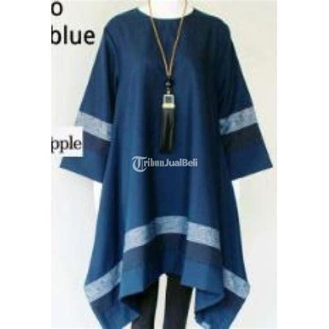 Baju Kemeja Bahan Linen Tenun baju tunik vinda 3 bahan katun tenun 3 warna pilihan terbaik bisa grosir dijual
