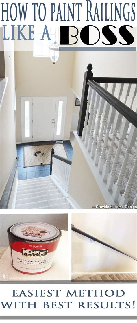 how to paint a stair banister 25 best ideas about painted stair railings on pinterest