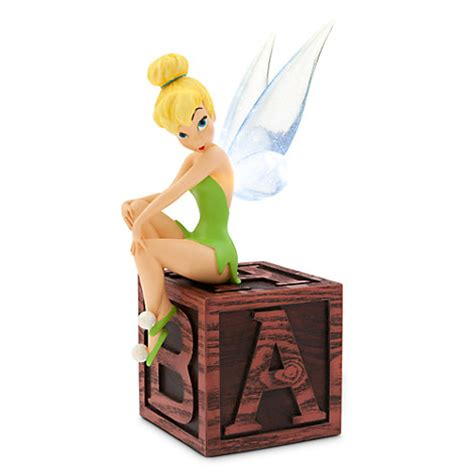 tinkerbell light tinker bell light up figurine disney store
