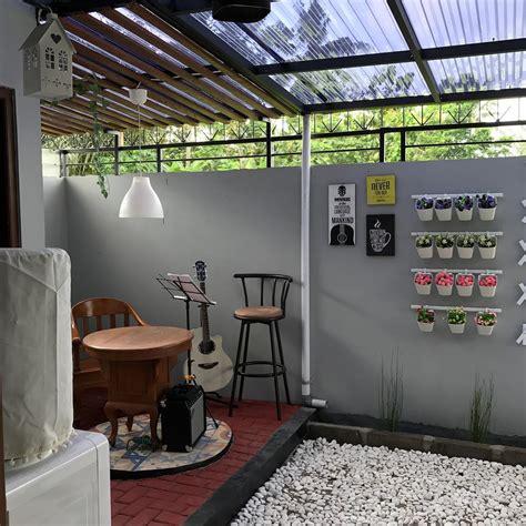 desain dapur atap terbuka unik rumah 62 meter ini punya dapur berkonsep terbuka