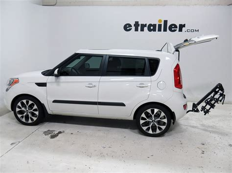 2012 kia soul swagman trailhead 4 bike rack for 1 1 4 quot and