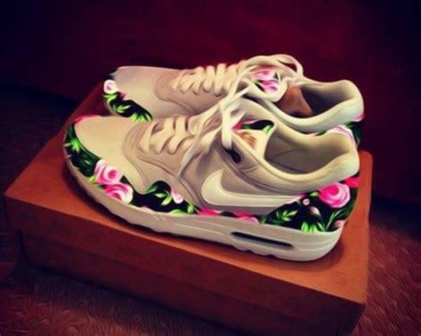 shoes grey air max floral nike nike air nike