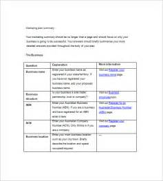 Marketing Plan Template by Simple Marketing Plan Template 13 Free Word Excel Pdf