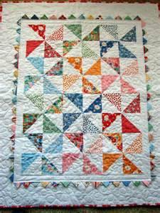 quilt create pinwheel baby quilt