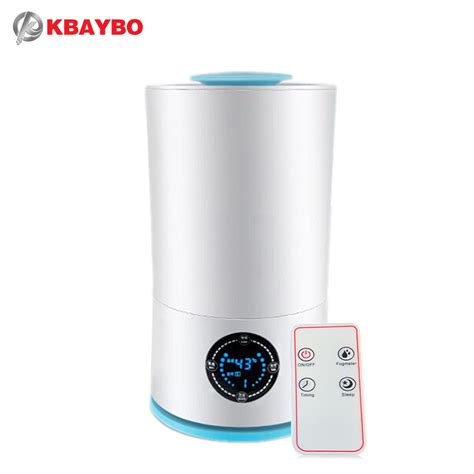 H09 Humidifier Essential Aromatherapy Diffuser Ultrasonic Cool kbaybo aroma essential diffuser ultrasonic cool mist humidifier led light for office