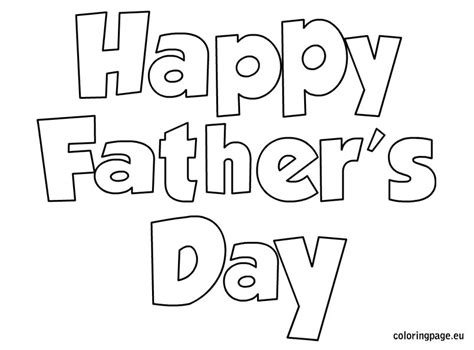 coloring pages father s day printable happy father s day father s day pinterest happy