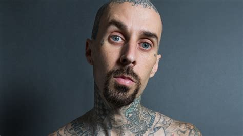 travis barker talks tattoos and pain gq