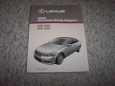 electric and cars manual 2006 lexus is electronic valve timing 1992 lexus sc300 sc 300 factory original electrical wiring diagram manual book cad 104 14