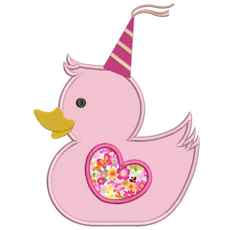 princess rubber st happy birthday princess rubber ducky applique machine