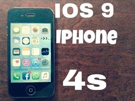 ios 9 iphone 4s en espa 241 ol