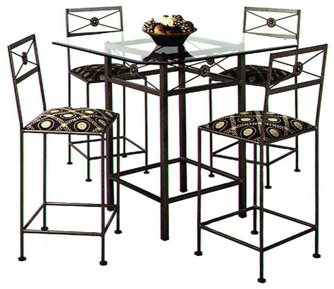 bar tables wrought iron