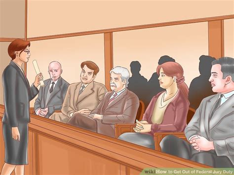 Can You Serve On A Jury With A Criminal Record How To Get Out Of Federal Jury Duty 11 Steps With Pictures