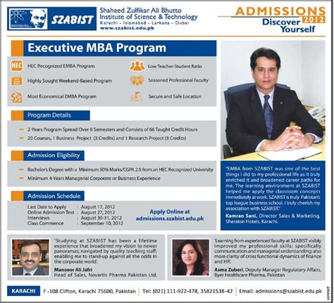 Executive Recruiters Mba by Dcte Khyber Pakhtunkhwa Admissions 2012 Images